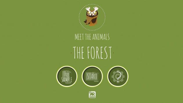 Meet The Animals: The Forest. poster
