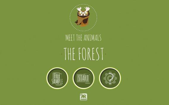 Meet The Animals: The Forest. apk screenshot