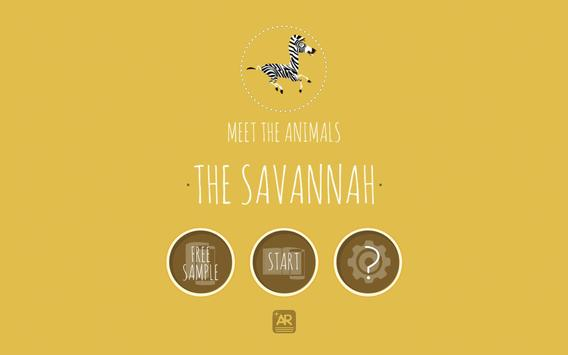 Meet The Animals: The Savannah apk screenshot