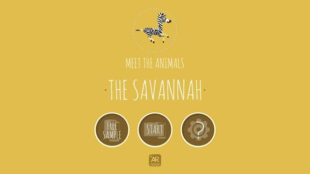 Meet The Animals: The Savannah poster