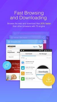 DU Browser captura de pantalla 2