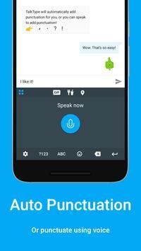 TalkType screenshot 1