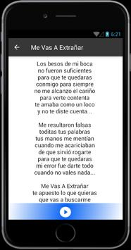 Banda MS Me Vas a Extranar screenshot 1