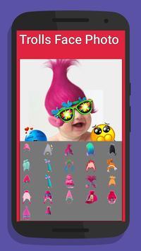 Face for trolls emoji poster