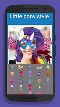 Little Pony Style Camera poster