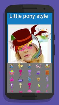 Little Pony Style Camera apk screenshot