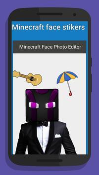 Photo Sticker for Minecraft poster