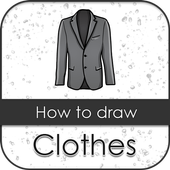Learn to draw clothes icon