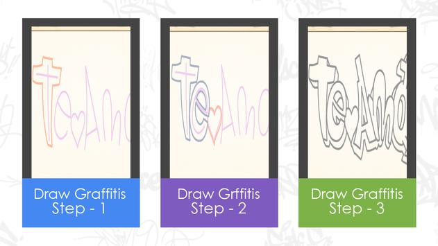 Learn to draw graffitis screenshot 1