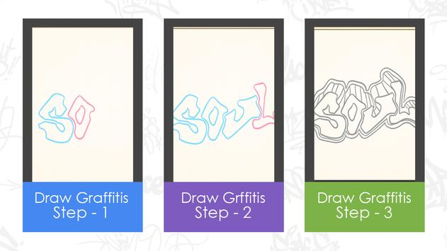 Learn to draw graffitis screenshot 3