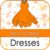 Learn to draw dresses icon