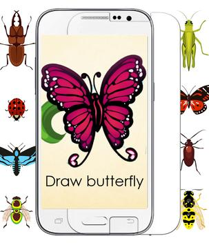 Draw Insect poster