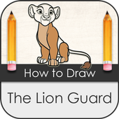 How to Draw Lion Guard icon