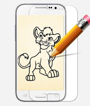 How to Draw Lion Guard apk screenshot