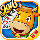 Bullfighting poker icon