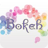 Insta bokeh :  blend camera icon