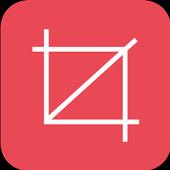 Insta square size pic grid icon