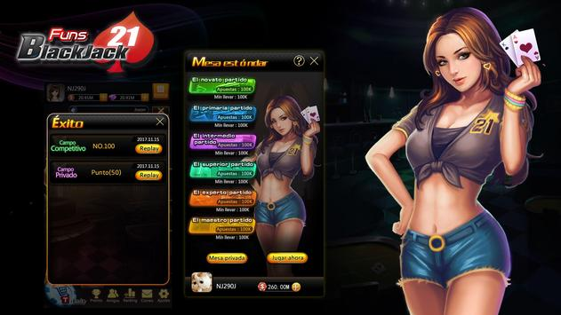 Funs Blackjack screenshot 4