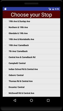 Phoenix Metro Timetable apk screenshot