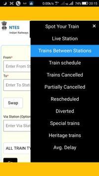 NTES 2.0  : Railway Enquiry screenshot 1