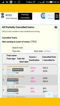 NTES 2.0  : Railway Enquiry screenshot 3