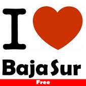 I love baja sur free icon