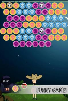 Bubble Shooter Halloween poster