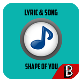 Shape of You MP3 Lyric Song icon