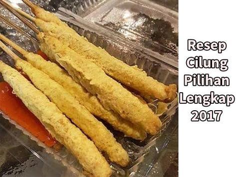 Resep Masakan Aci - Cilung poster