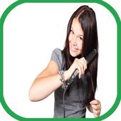 وصفات لتنعيم وفرد الشعر icon