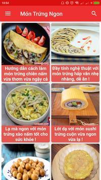 Món Trứng Ngon - Các Món Ăn Từ Trứng screenshot 1