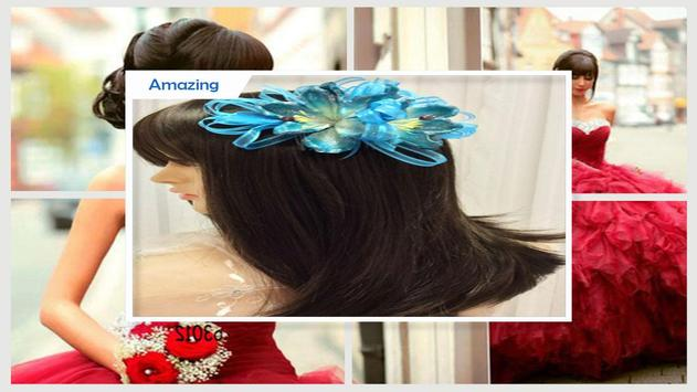Beauty Quinceanera Hairstyles poster