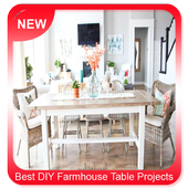 Best DIY Farmhouse Table Projects icon