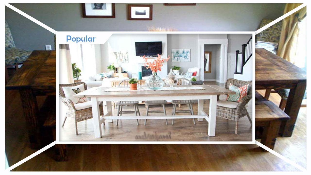 Best DIY Farmhouse Table Projects poster