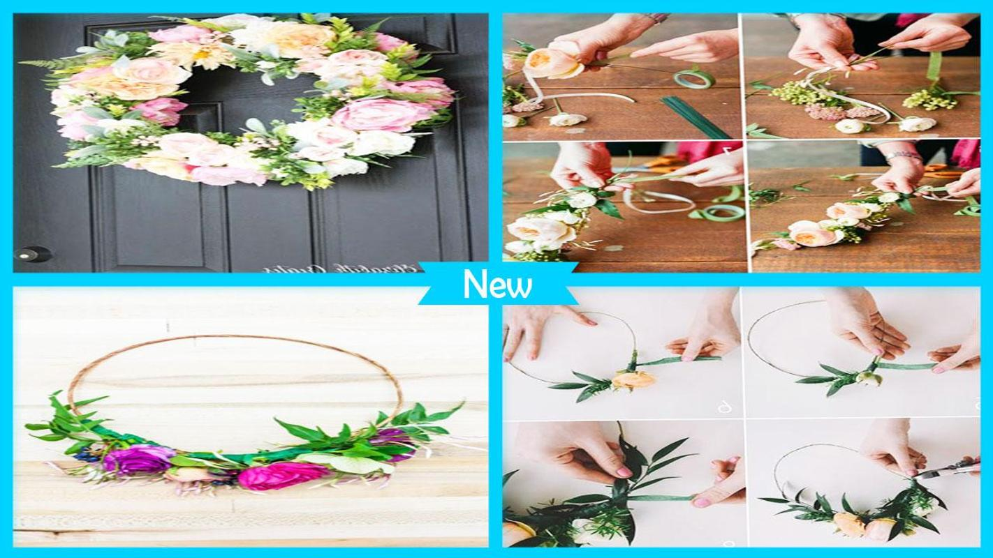 Spring diy floral crown tutorials apk download free books spring diy floral crown tutorials poster izmirmasajfo