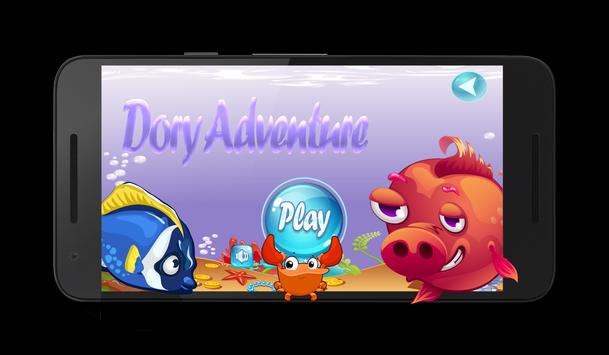Dory Fish Adventure Game poster