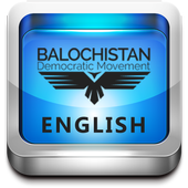 Baloch Democratic English icon