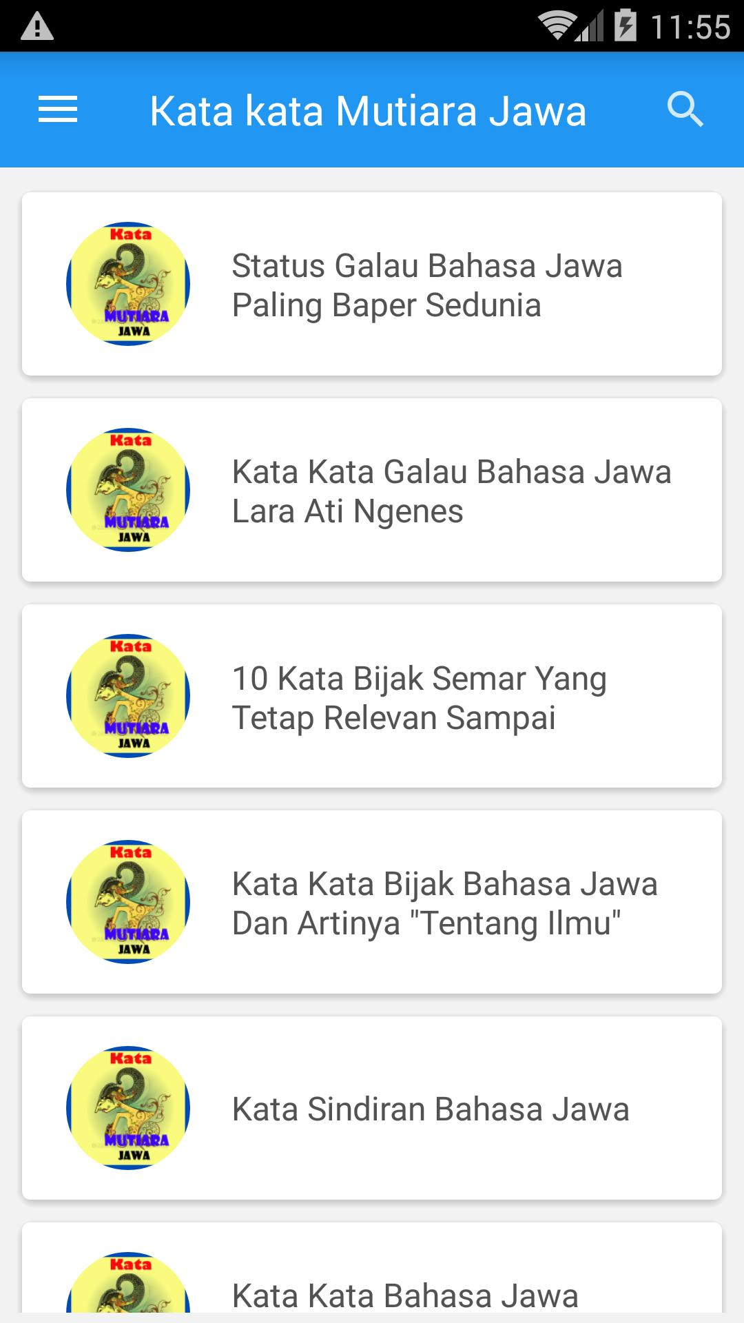 Kata Kata Mutiara Bahasa Jawa For Android Apk Download