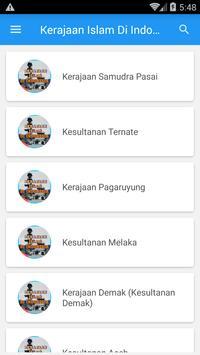 Kerajaan Islam di Indonesia poster