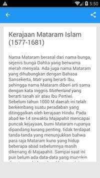 Kerajaan Islam di Indonesia screenshot 1