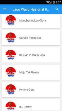 Lagu Wajib Nasional Republik Indonesia screenshot 2