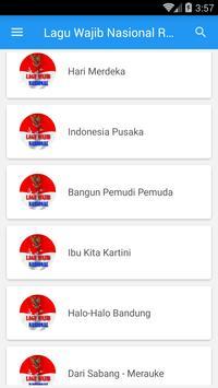 Lagu Wajib Nasional Republik Indonesia screenshot 3