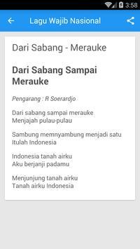 Lagu Wajib Nasional Republik Indonesia screenshot 4