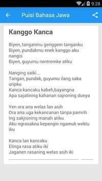 Puisi Bahasa Jawa Für Android Apk Herunterladen