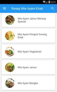 Resep Mie Ayam Enak screenshot 2