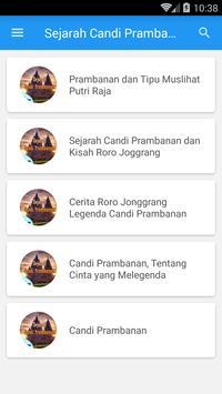 Candi Prambanan Roro Jonggrang apk screenshot