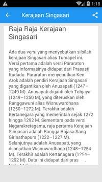 Sejarah Kerajaan Singasari apk screenshot