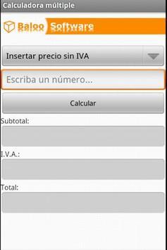 MultiCalculadora apk screenshot