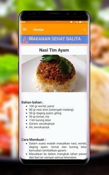 Resep Masakan Sehat Bayi & Balita screenshot 2