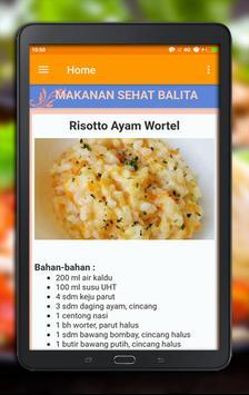 Resep Masakan Sehat Bayi & Balita screenshot 3